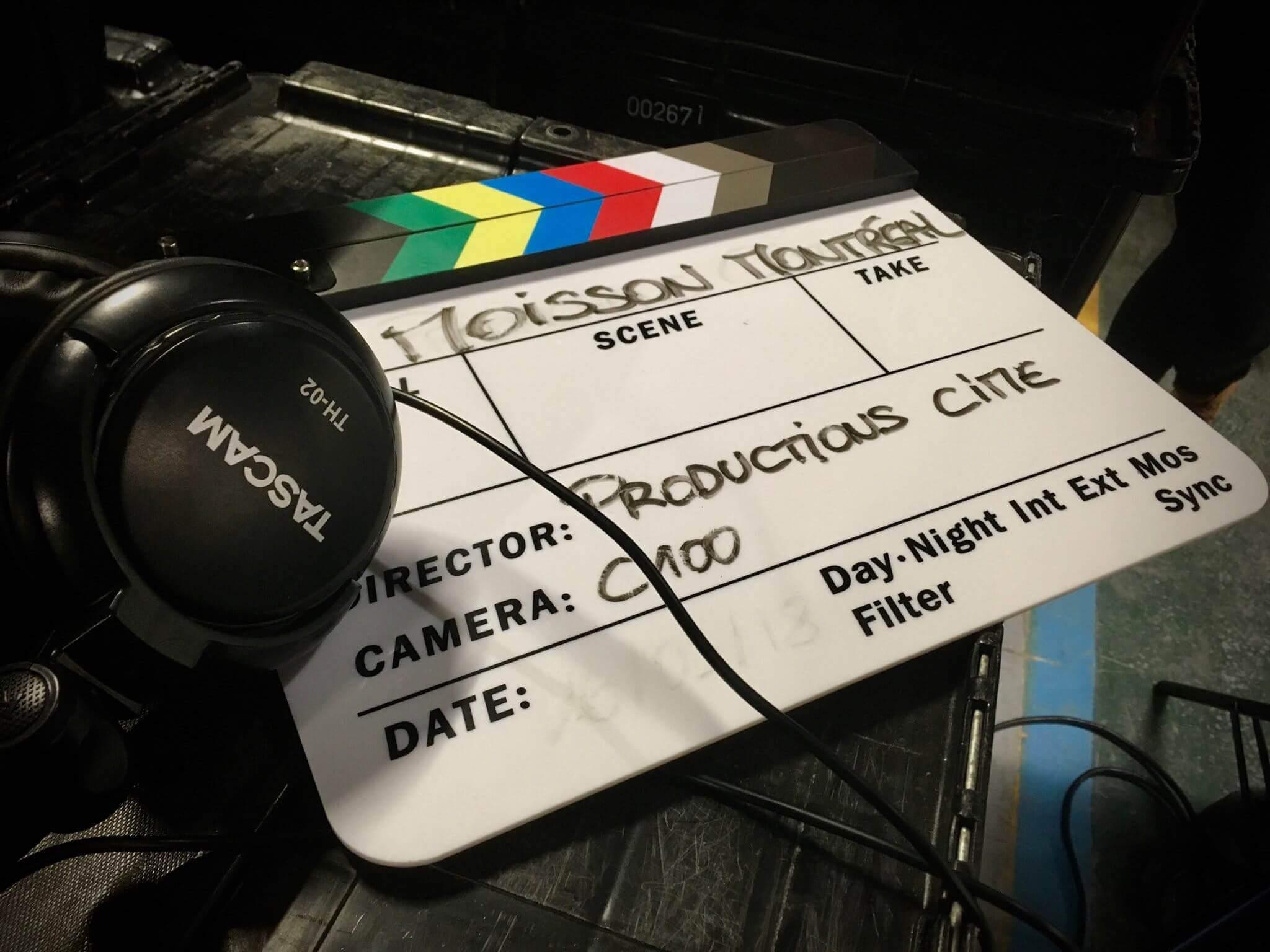 tournage corporatif Productions Cime